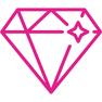 Resultado de imagen para icon diamond pink